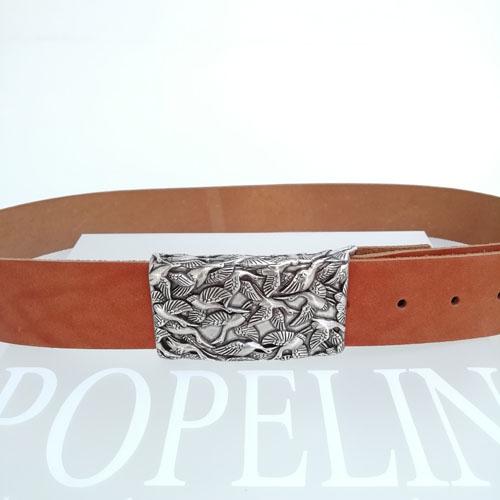 Cinturó de pell per jeans. Regal ideal per a dona. Popelin Barcelona