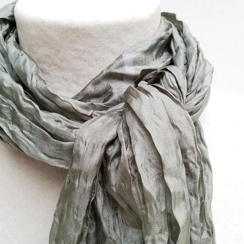 Fulard de seda natural de diseny. Popelin Barcelona