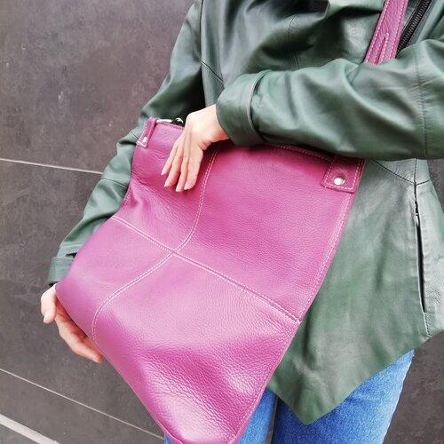 bolso cuero bonito moda shop online popelin barcelona