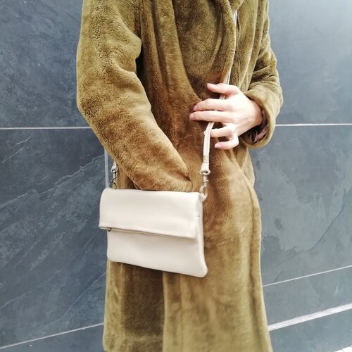 bolso de mano cuero moderno diseno espanol popelin barcelona