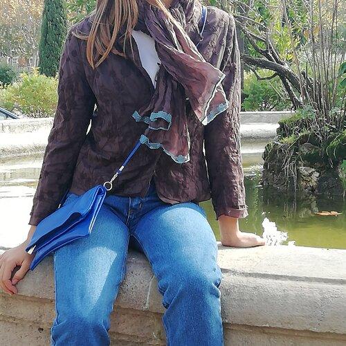 bossa cuir bandolera disseny practica elegant popelin barcelona