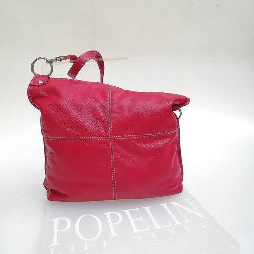 bossa cuir color vermell moda popelin barcelona