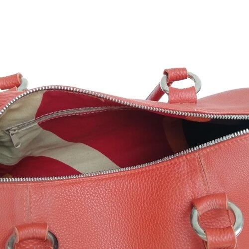 bossa cuir cremallera disseny catala popelin barcelona
