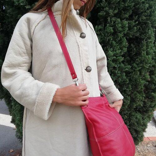 bossa cuir gran vermell disseny moda popelin barcelona