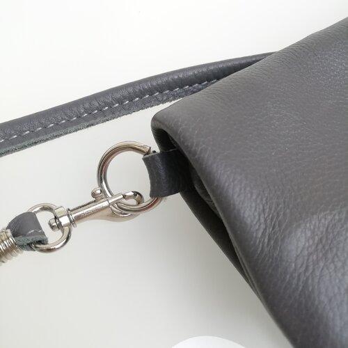 bossa de cuir petita artesa disseny regal aniversari popelin barcelona