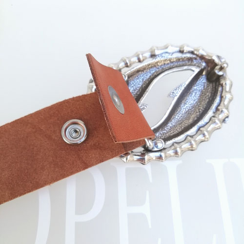 cinturo cuir artesania sivella bonica popelin barcelona