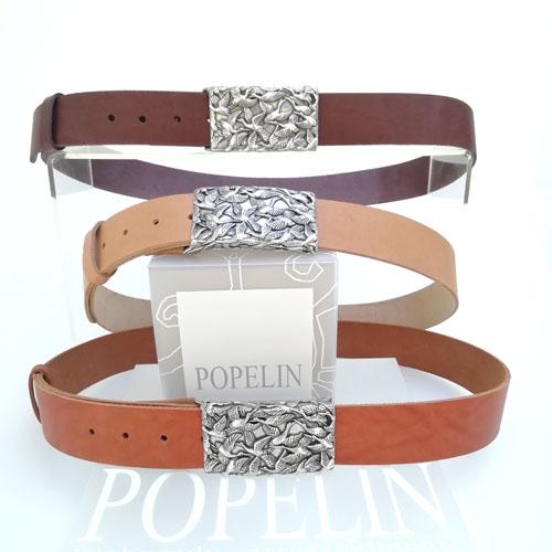 cinturó de cuir per a dona. Regal perfecte. Popelin Barcelona