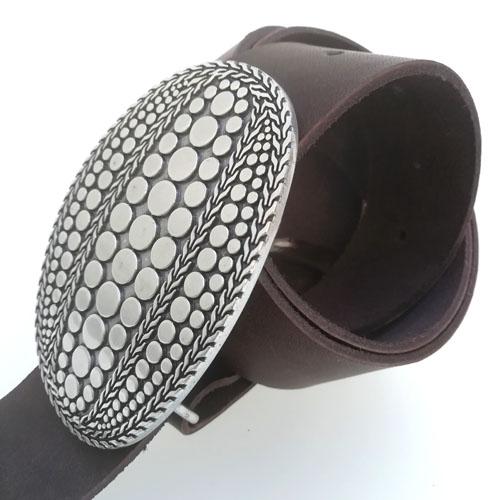 cinturo cuir negre sivella original Popelin Barcelona
