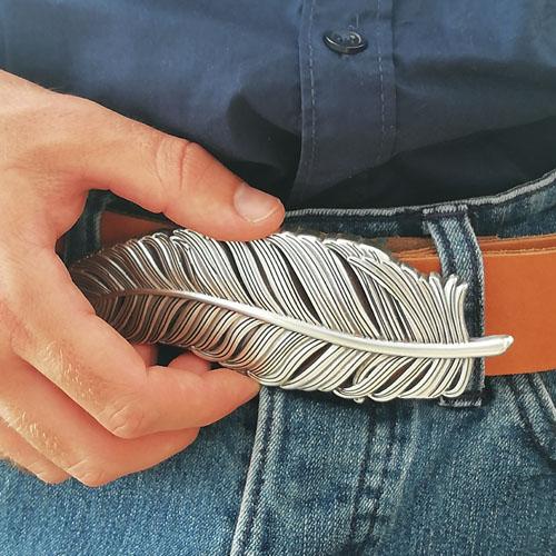 cinturó de cuir amb sivella per mujer. Popelin Barcelona