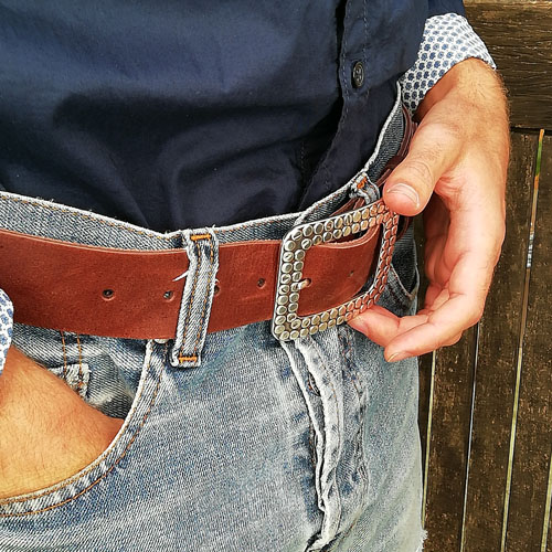 cinturo cuir sivella texans Popelin Barcelona