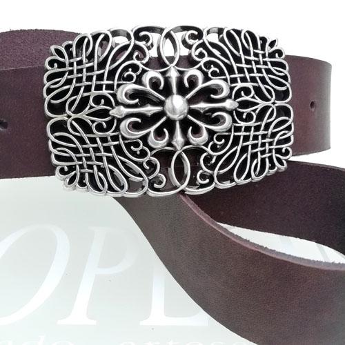 cinturó de cuir amb sivella per texans original. Popelin Barcelona