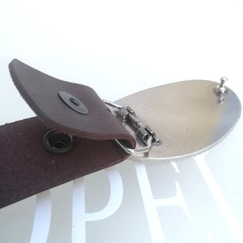 cinturo pell vaca disseny original Popelin Barcelona