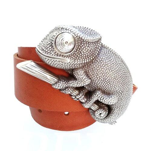 cinturon hebilla camaleon naturaleza original regalo popelin barcelona