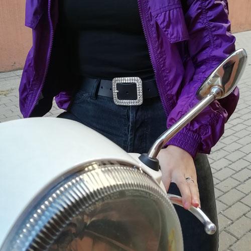 cinturon piel vaca blando accesorio moda Espana Popelin Barcelona