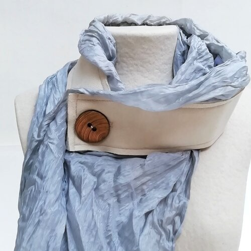 fular seda especial diseno moderno mujer moda popelin barcelona