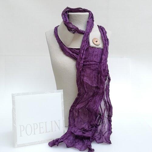 fular seda natural moda mujer popelin barcelona