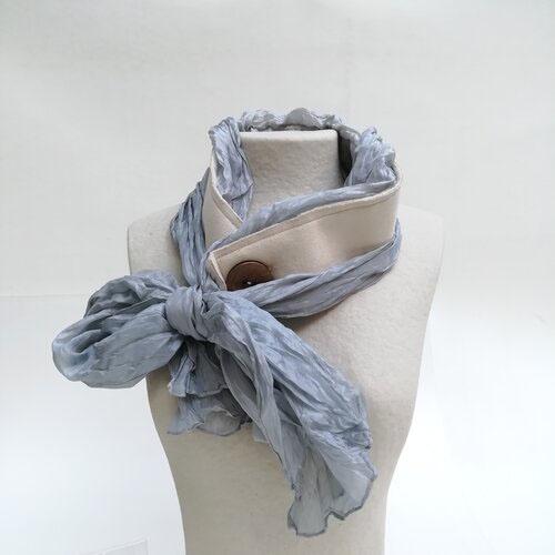 fulard seda artesa fet a ma popelin barcelona catalunya