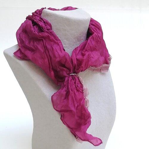 mocador seda disseny especial regal dona popelin barcelona catala
