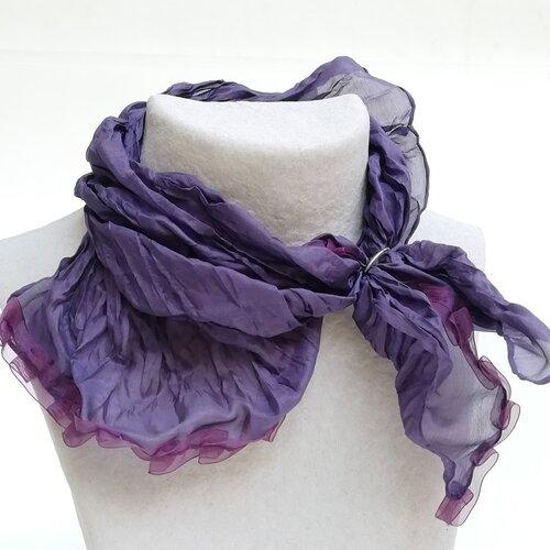 mocador seda dona disseny modern popelin barcelona catalunya