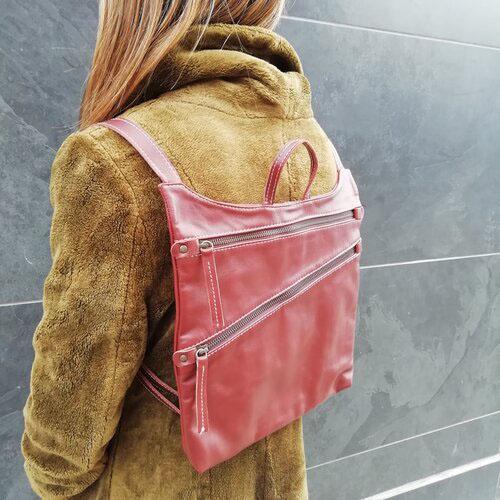 motxilla cuir disseny moderna moda dona popelin barcelona