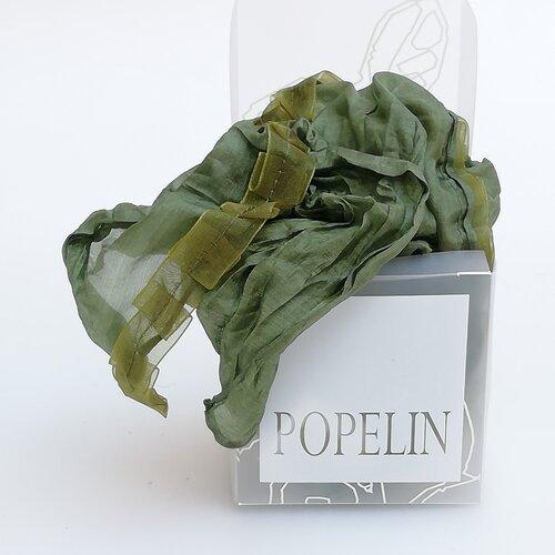 panuelo seda caja regalo popelin barcelona artesanal