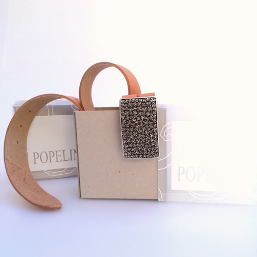 cinturo cuir capsa ideal regal Popelin Barcelona