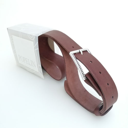 cinturo cuir capsa regal Popelin Barcelona