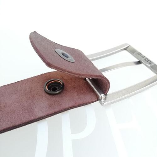 cinturo cuir fet a ma Catalunya sivella metall Popelin Barcelona