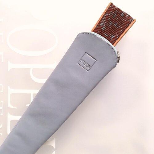 funda ventall cuir gris moderna regal popelin barcelona