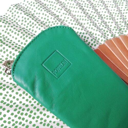 funda ventall cuir verd artesa catalunya popelin barcelona