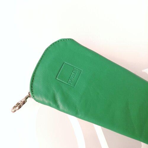funda ventall cuir verd botiga online popelin barcelona