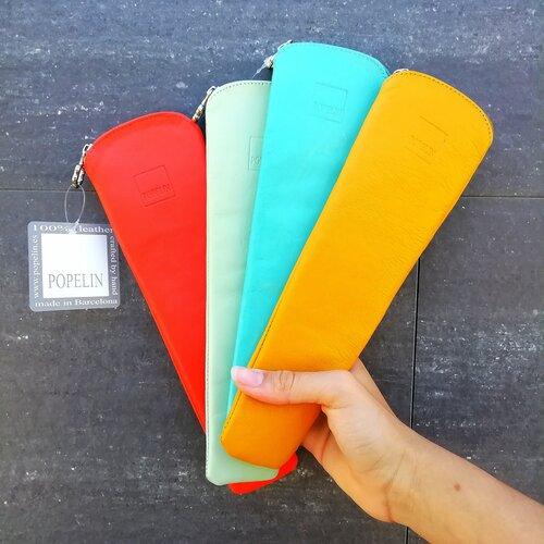 fundas abanico colores alegres popelin barcelona hecho a mano