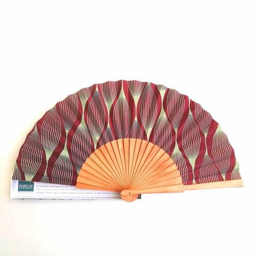 ventall artesa catalunya fusta tela popelin barcelona disseny