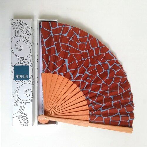 ventall artesa disseny trencadis capsa regal popelin barcelona