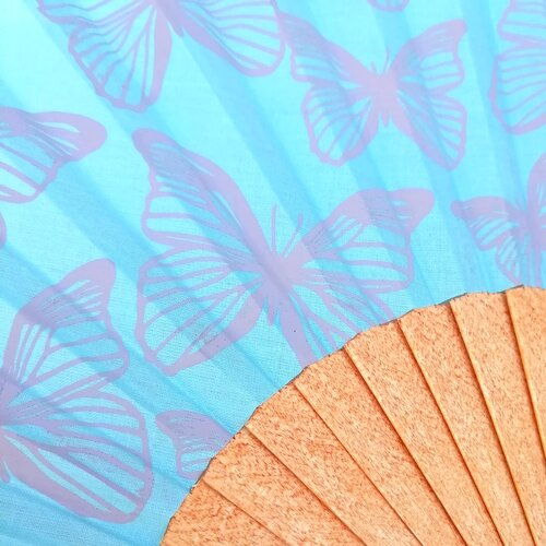 ventall artesa papallones disseny catala popelin barcelona