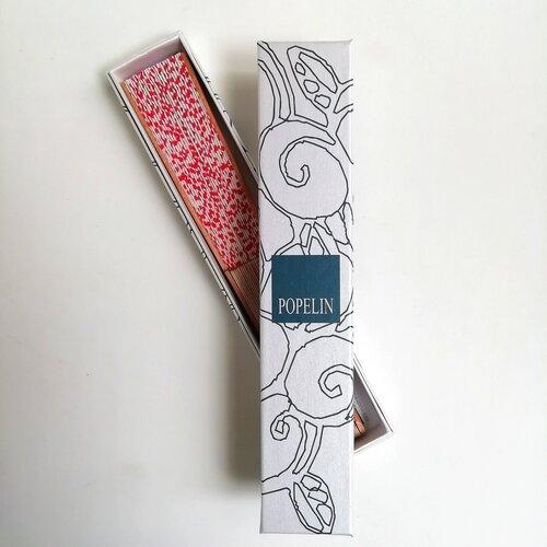 ventall capsa regal ideal vermell popelin barcelona