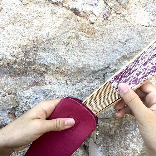 ventall especial bonic funda cuir popelin barcelona