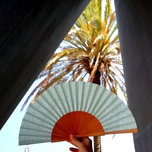 ventall especial disseny color popelin barcelona artesa catalunya