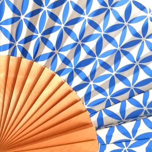 ventall especial flor vida Popelin Barcelona