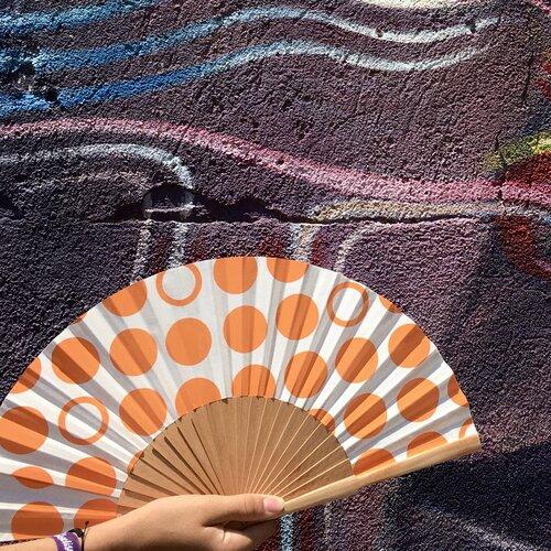 ventall espectacular topos tronja Popelin Barcelona disseny