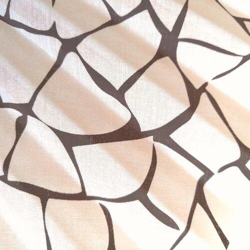 ventall estampat trencadis artesania catalunya popelin barcelona