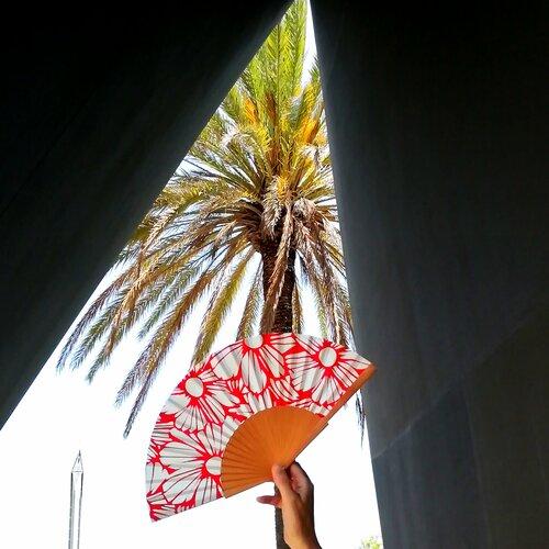 ventall fet a ma estiu regal dona popelin barcelona
