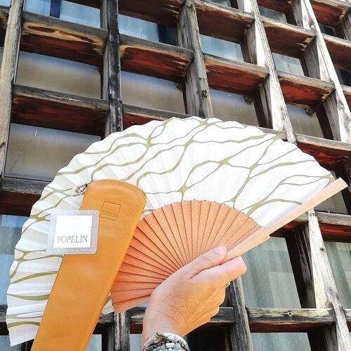 ventall leque diferent funda original disseny catalunya popelin barcelona