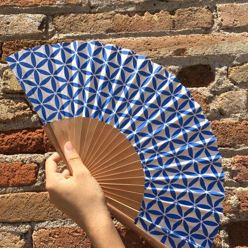ventall modern flor vida disseny Popelin Barcelona