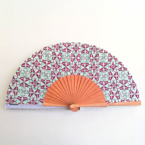 ventall regal modern estampat disseny barcelona popelin