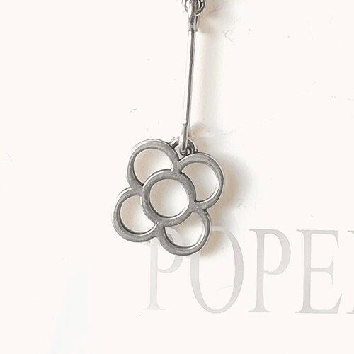 arrecades panot flor disseny catala artesa popelin barcelona