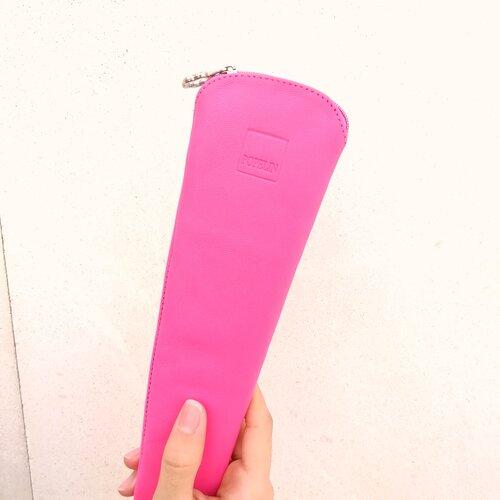 funda ventall cuir rosa disseny popelin barcelona