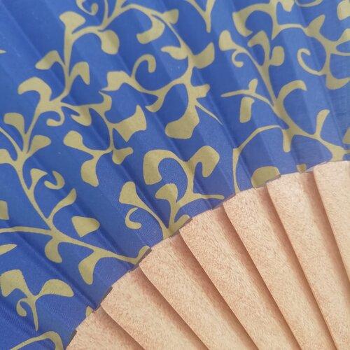 ventall coto fusta artesa blau popelin barcelona