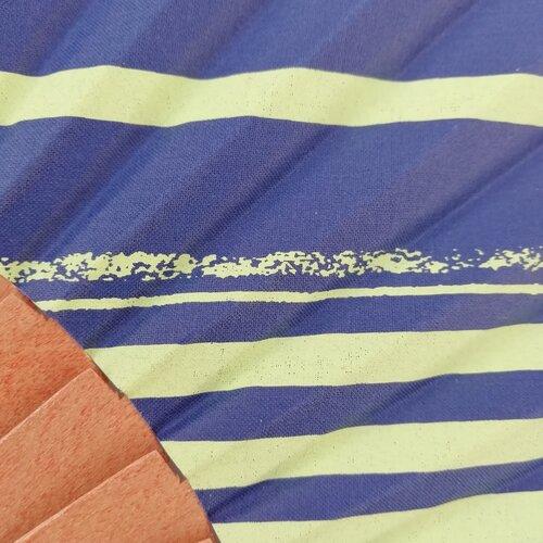 ventall estampat ratlles geometric disseny popelin barcelona