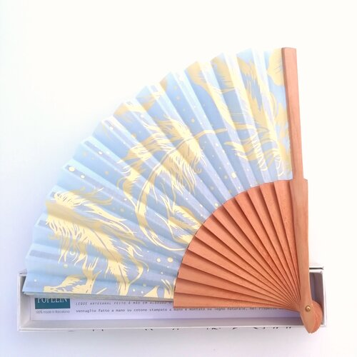 ventall plumes fusta artesania catalunya popelin barcelona